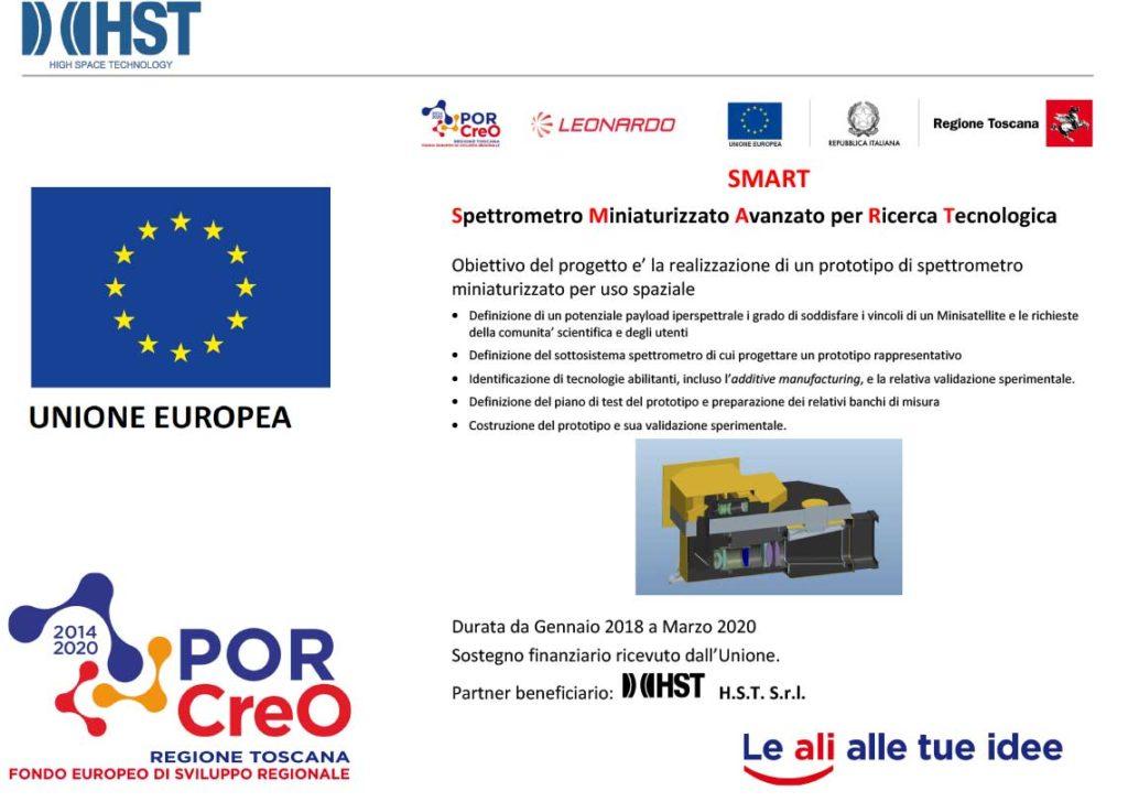 Progetto SMART - Spettrometro Miniaturizzato Avanzato per Ricerca Tecnologica